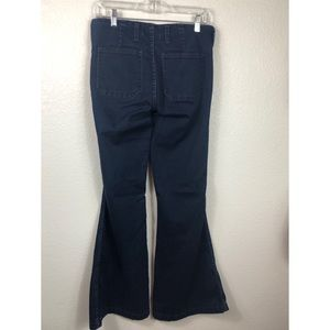 Free People Super Flare Jeans size 28